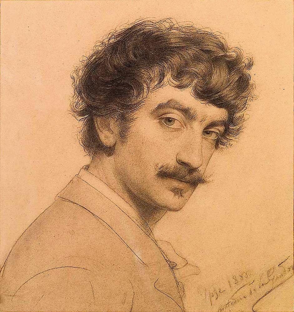35 ADLG Autoportrait 1888