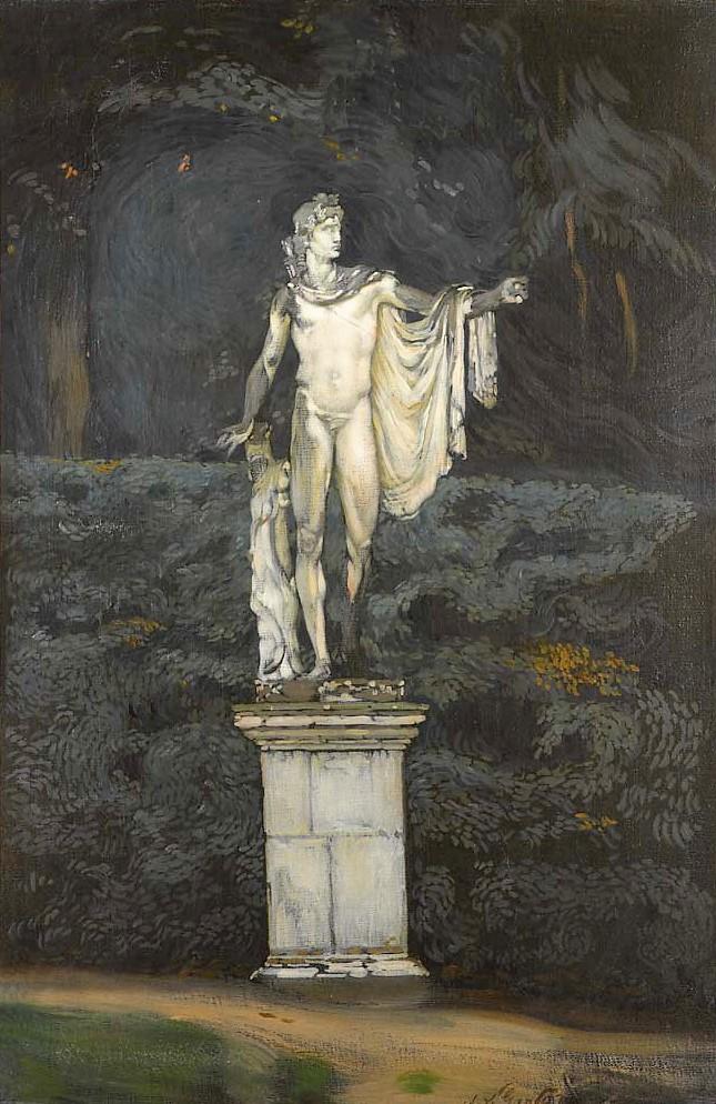4 Statue d'Apollon