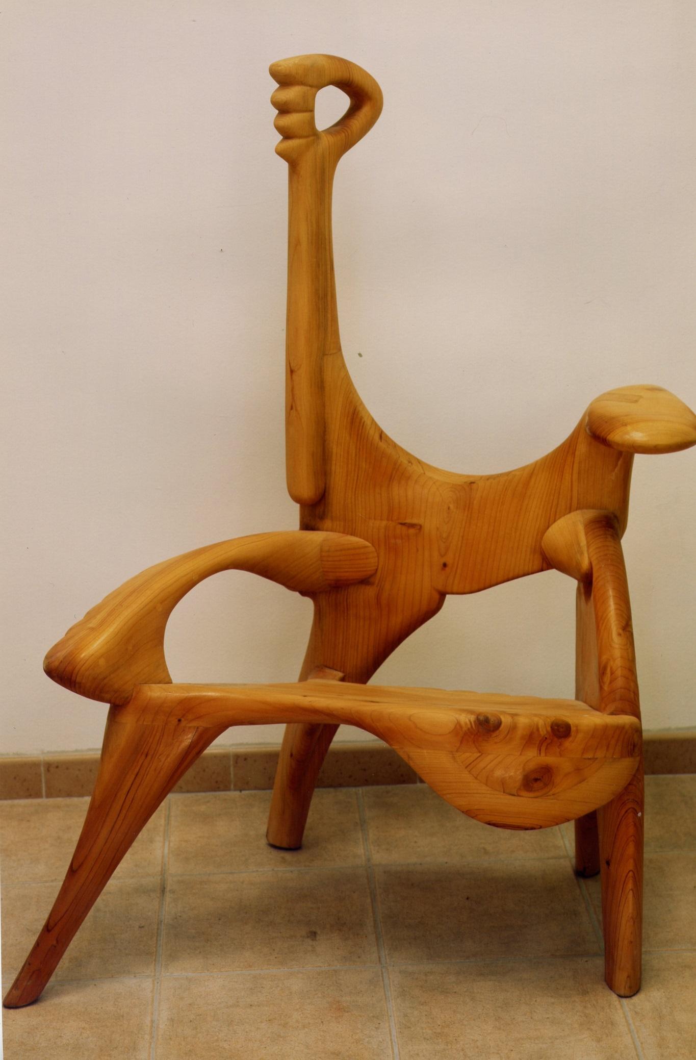 chaise cedre du liban 1995 carrarre