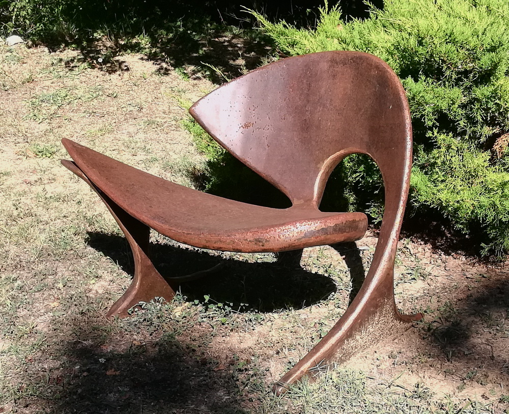 fauteuil métal 4
