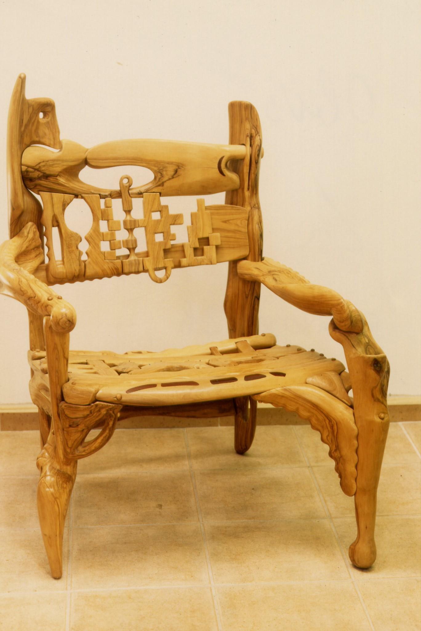 Morceau De Bois Brut lutfi romhein, les meubles d'un sculpteur – histoire du mobilier