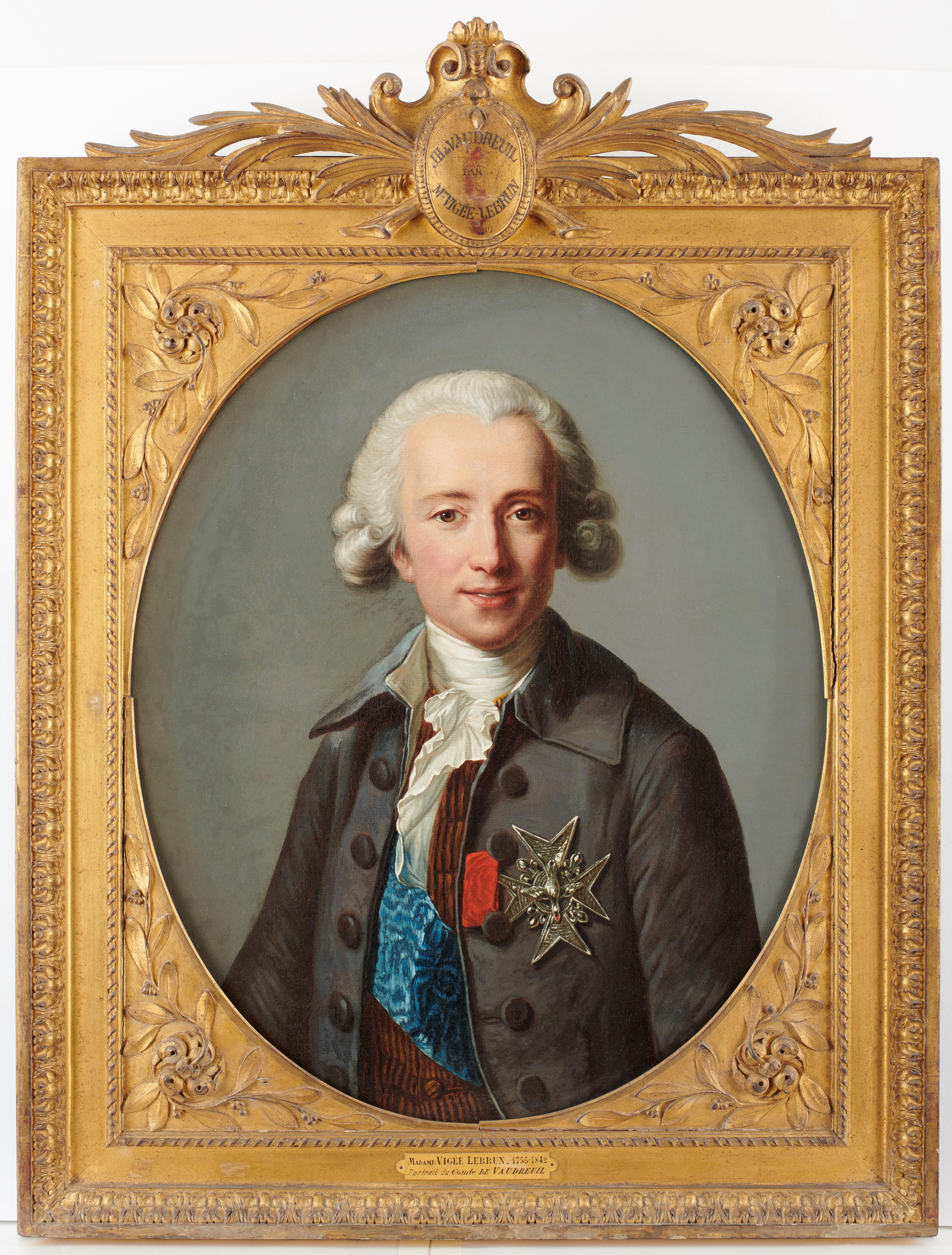 042_Comte de Vaudreuil Elisabeth Louise Vigée Le Brun ©CPDAHS_Photo Thierry Ollivier