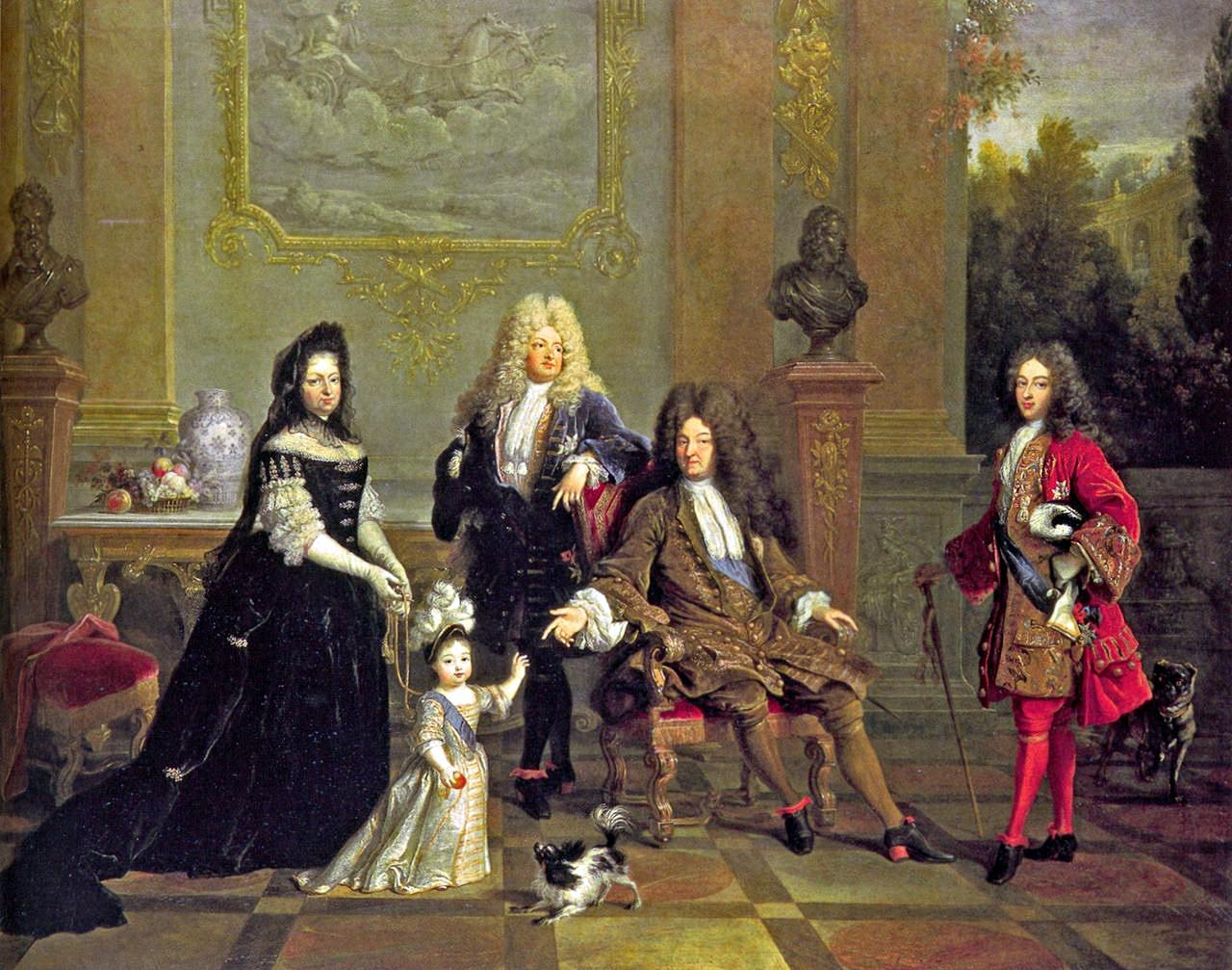 01 Louis XIV et sa famille