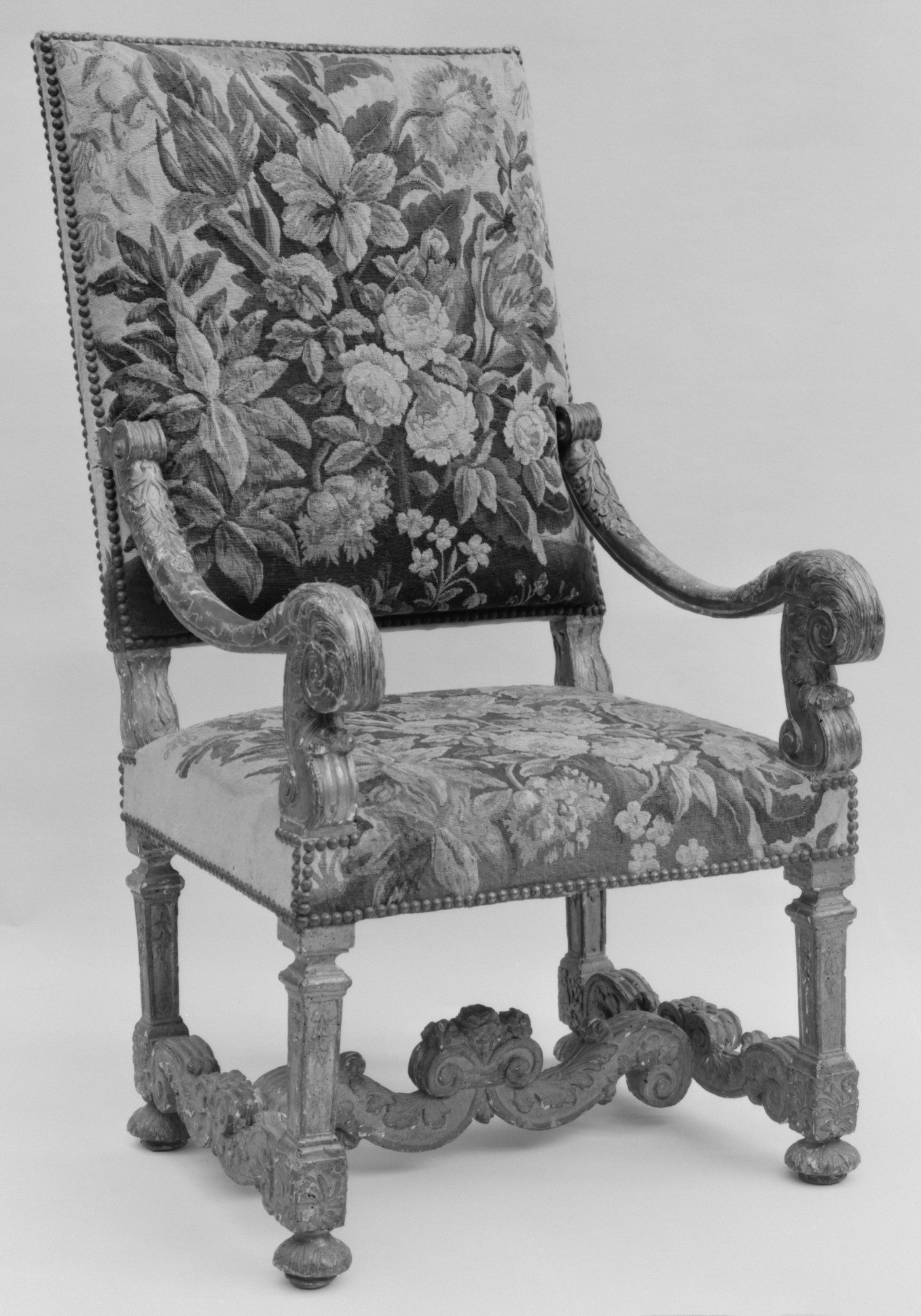 08 fauteuil Louis XIV Met