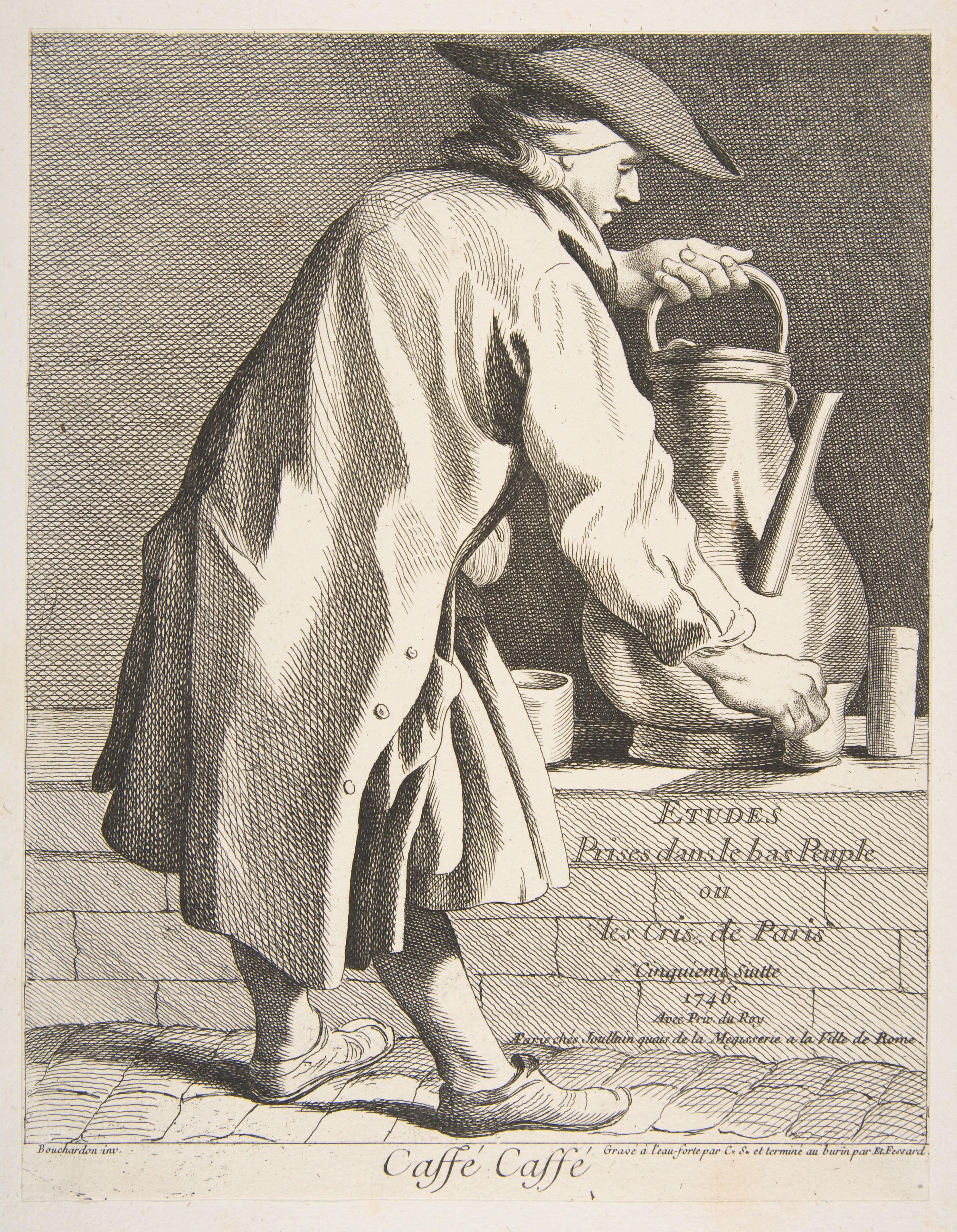 09 comte de Caylus, vendeur de café