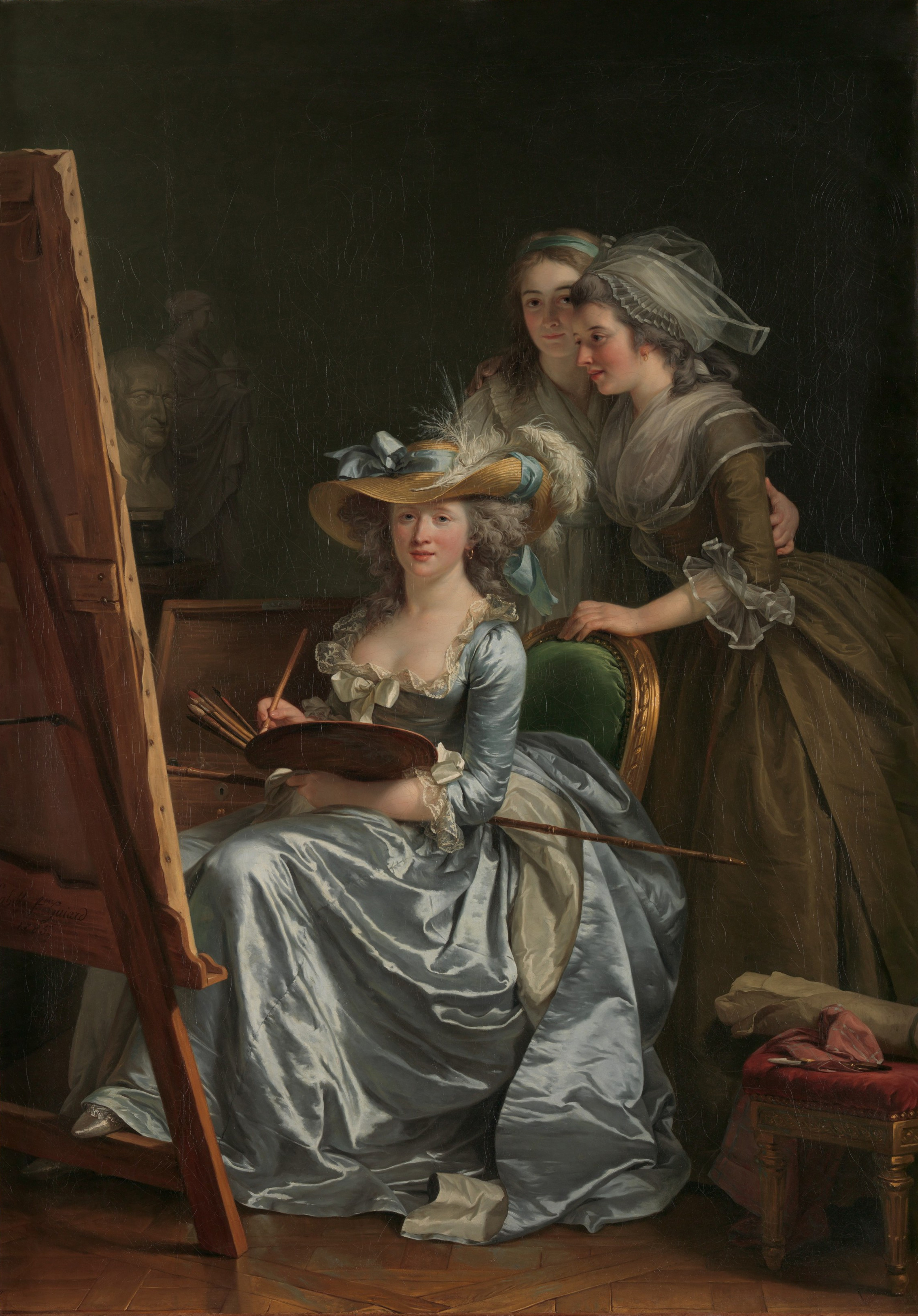12 Adélaïde_Labille-Guiard_-_Self-Portrait_with_Two_Pupils_-_The_Metropolitan_Museum_of_Art (1)