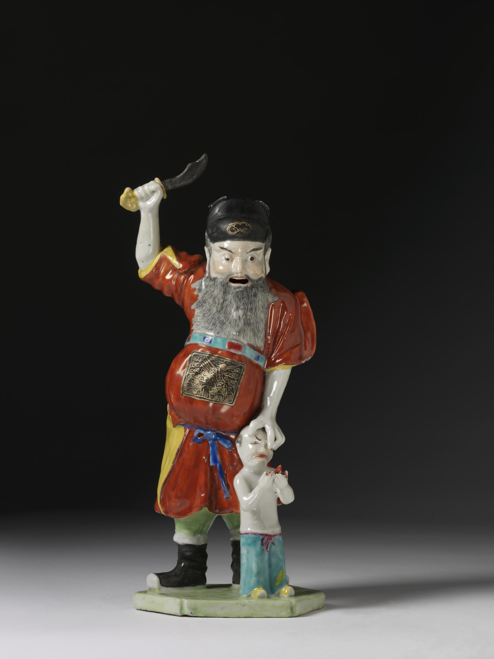 29 porcaline Chine Abraham et Isaac