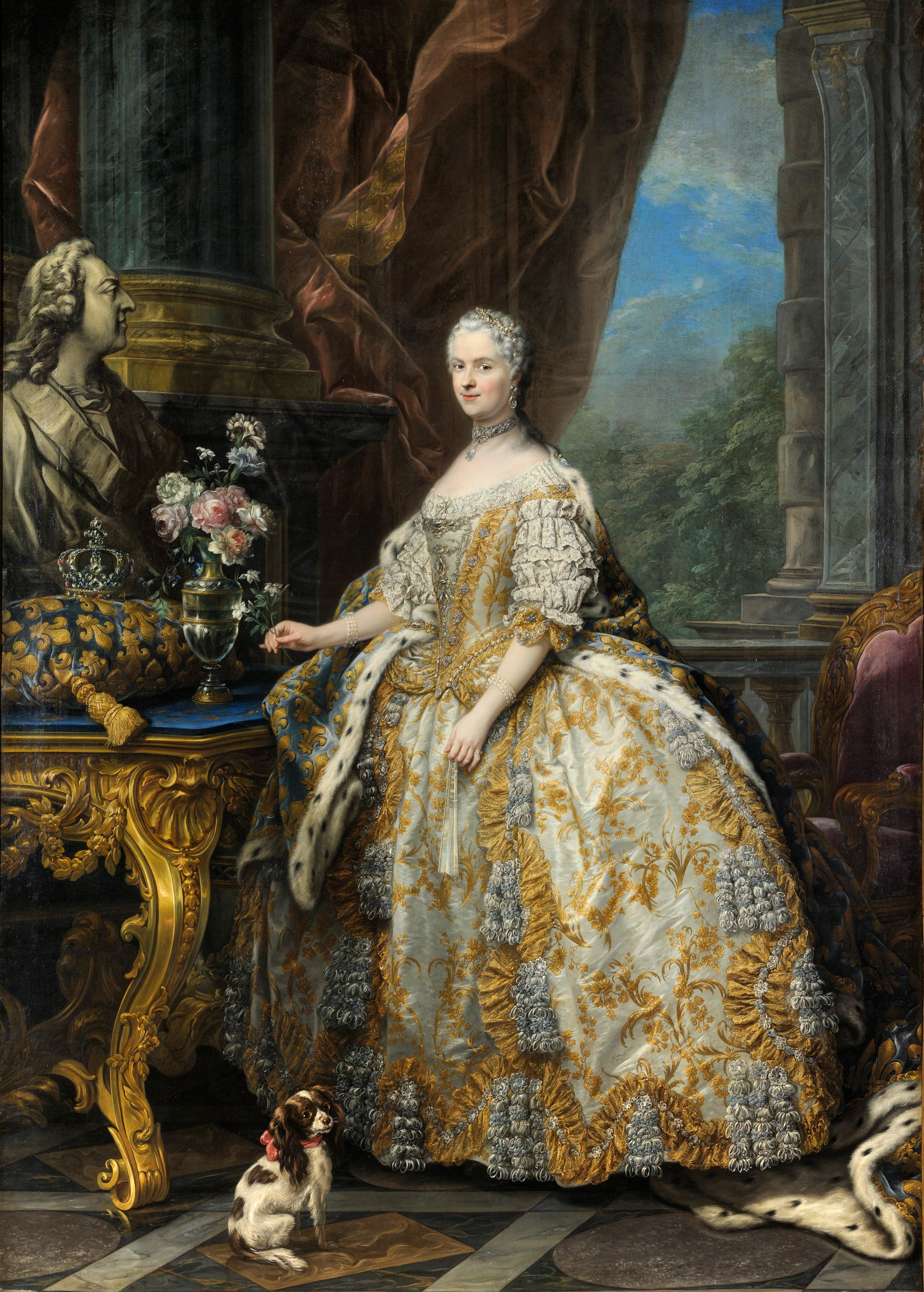 Carle_Van_Loo_-_Marie_Leszczinska,_reine_de_France_(1703-1768)_-_Google_Art_Project