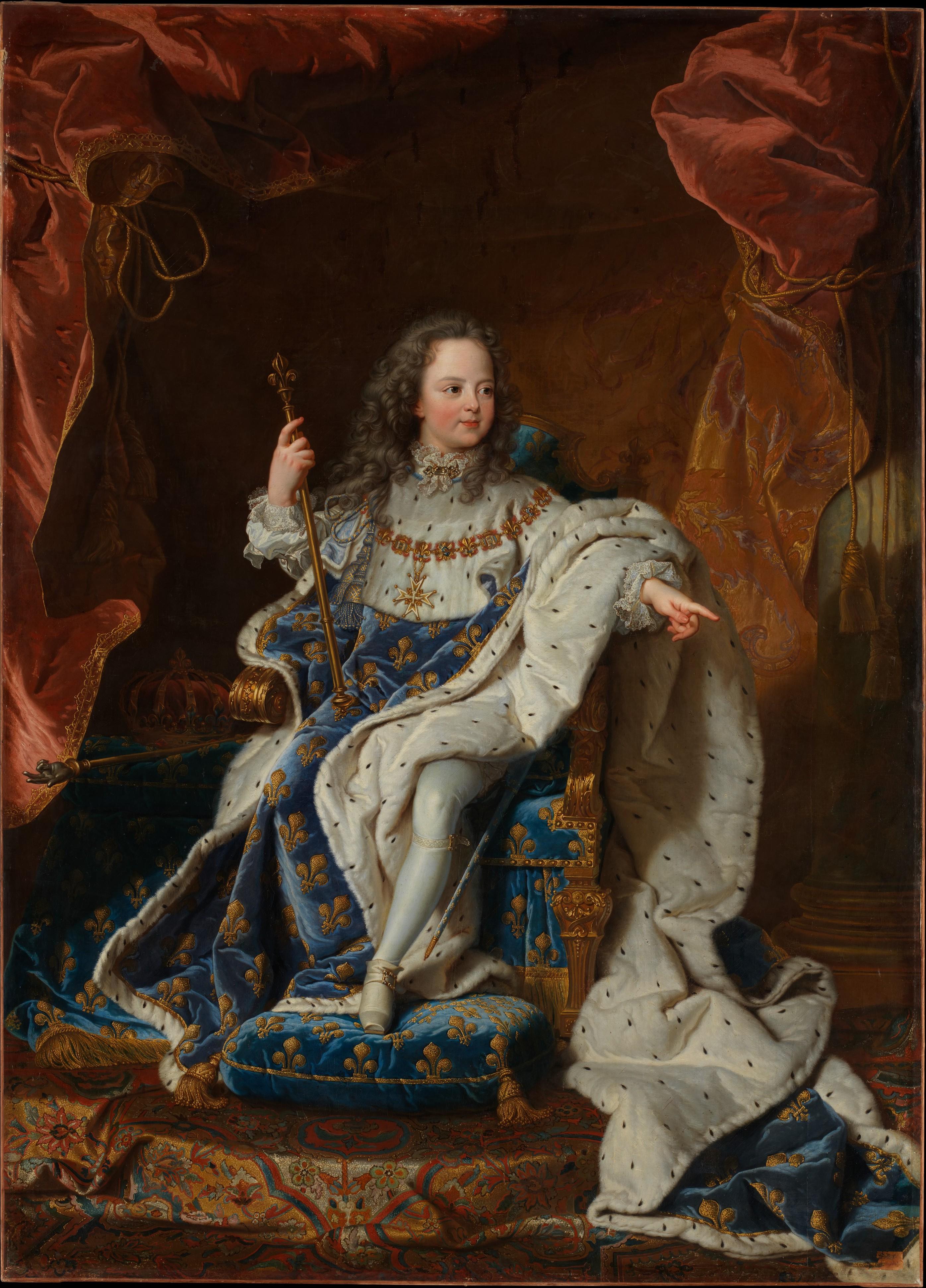 Louis XV enfant Met