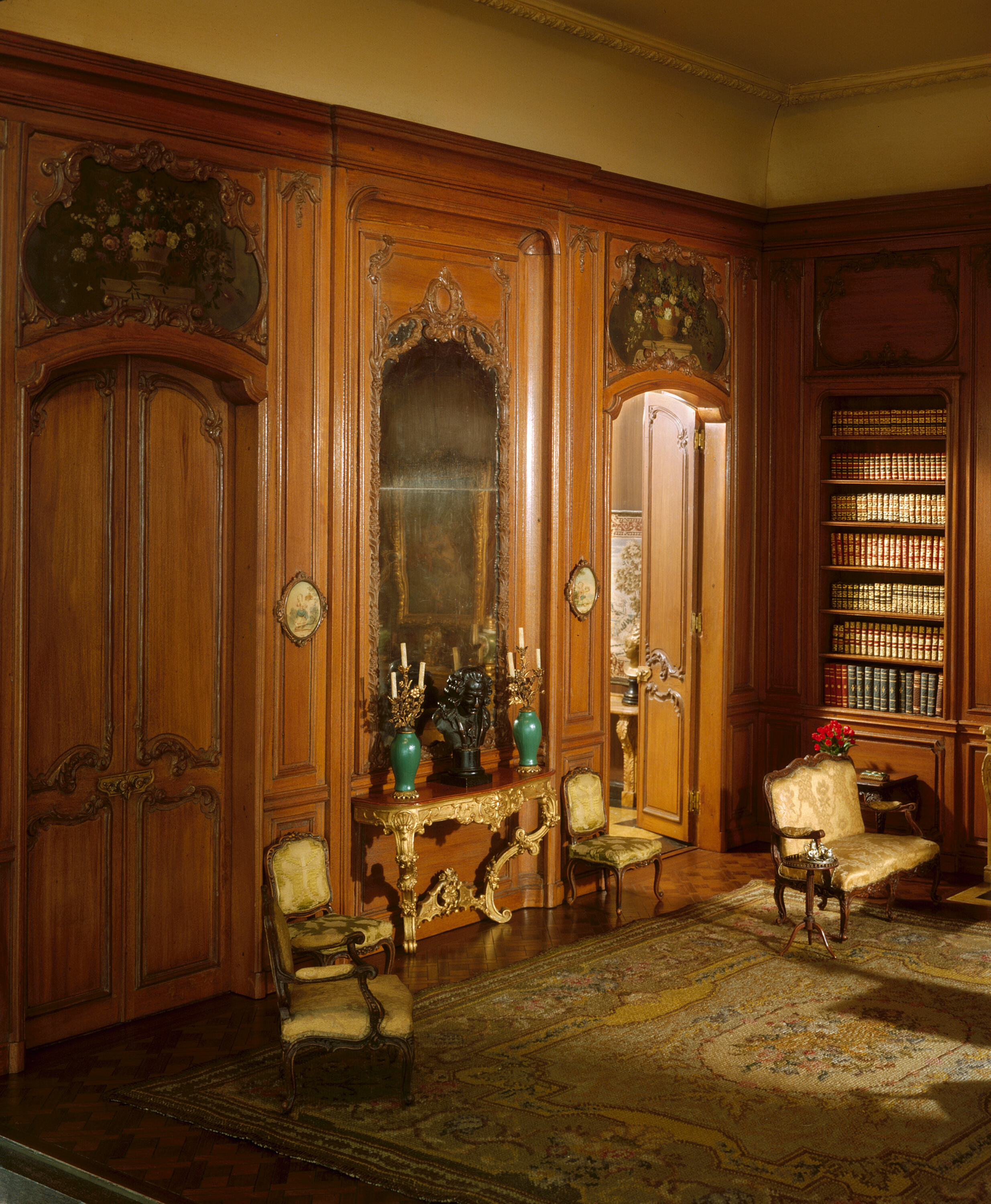 Chicago Art I. French Library of the Louis XV Period,jpg